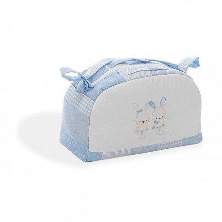 Bolso maternidad tela con dibujos