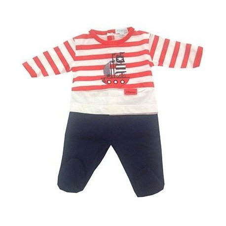 Pijama bebe marinero pillerias