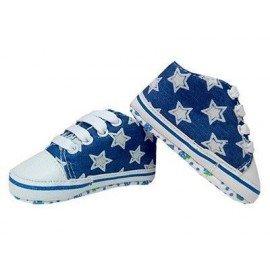 Zapatillas bebe estrellas