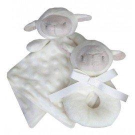 Pack regalo dou-dou y sonajero oveja