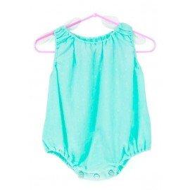 Ranita bebe cotton verde