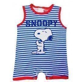 Pelele rayas Snoopy