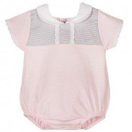 Pelele bebé Apolo rosa