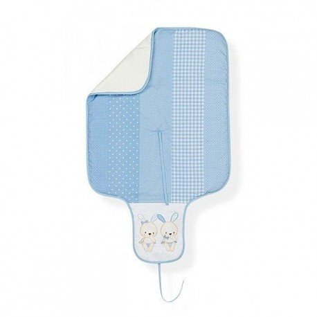 cambiador tela conejitos inetrior plastificado