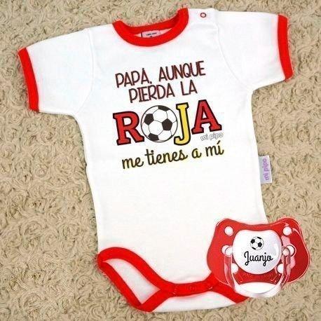 """Pack bebé eurocopa """"me tienes a mi"""""""