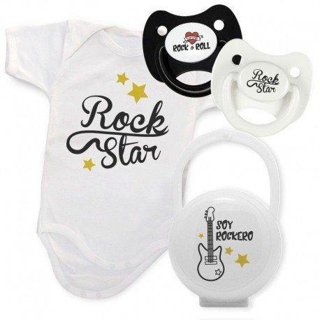 Pack regalo bebé Rockero