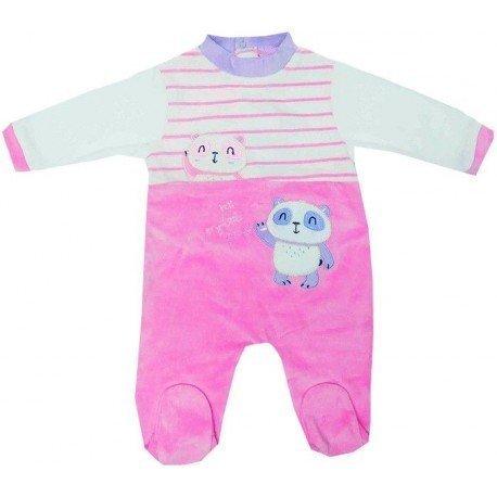 Pijama invierno bebé Panda