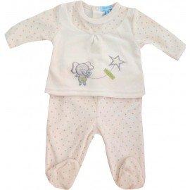 Pijama bebé Elefante y estrella