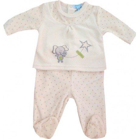 pijama invierno dos piezas para bebe
