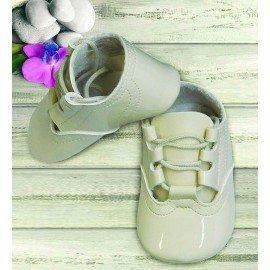 Zapatos bebé charol cordones