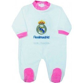 Pijama bebé Real Madrid rosa