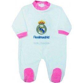 Pijama bebé Real Madrid rosa