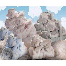 Peluche oso dormilon + manta