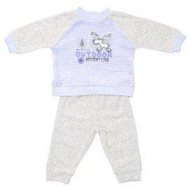 chandal bebe ciervo gris