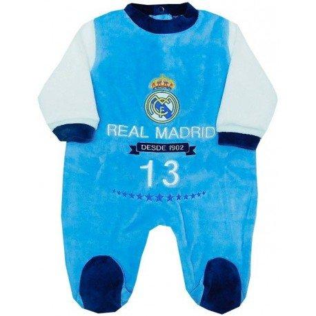 Pijama bebé real madrid azul