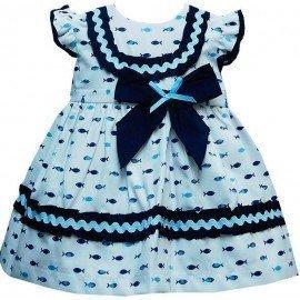 Vestido bebé pececitos