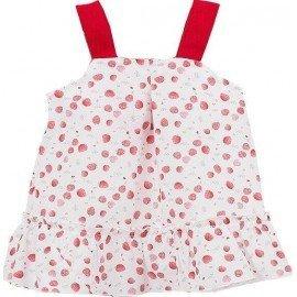 Vestido bebé niña Fresas