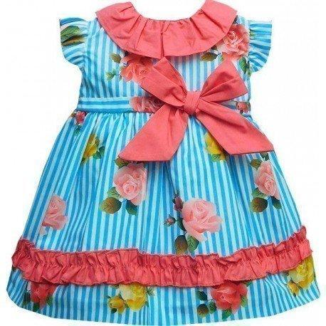 Vestido bebe rayas Dulce