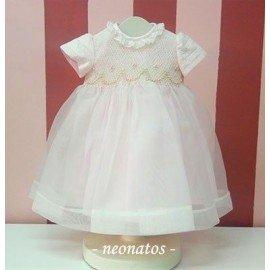 Vestido ceremonia bebé princesa