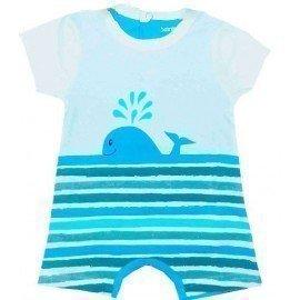 Pijama bebé ballena
