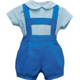 Peto bebé Pinocho Azul