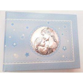 Álbum fotos plata bebé bautizo