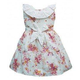 Vestido bebé niña flores