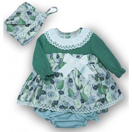 Jesusito bebé verde Pera