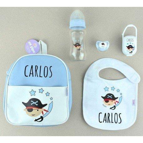 Pack bebé pirata personalizado