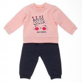 Chándal bebé princesa
