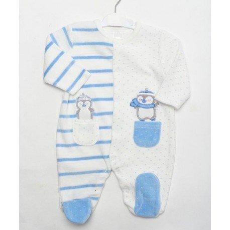 Pijama bebé Pingüinos