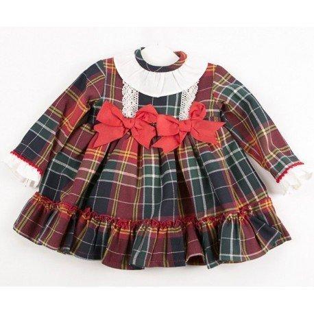 Vestido bebé Escoces