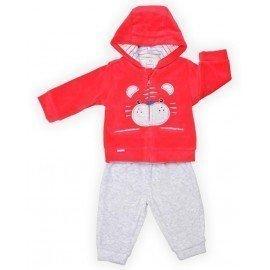 Chándal bebé rojo Tigre