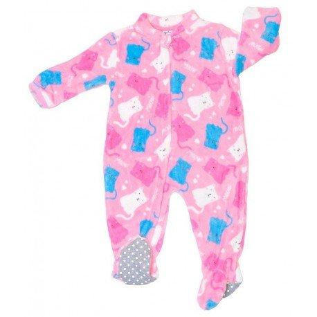 Pijama manta bebe Gatitos