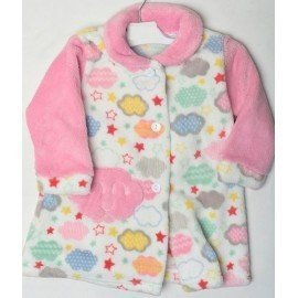 Bata bebe rosa Nubes