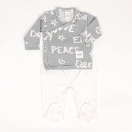 Conjunto bebé prematuro Peace