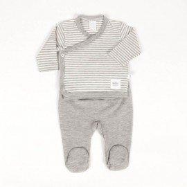 Conjunto bebé prematuro Stripe