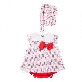 Jesusito bebé niña rojo Noelia