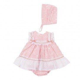 Jesusito bebé niña rosa Paula
