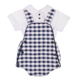 Ranita bebé Cuadros con Camisa