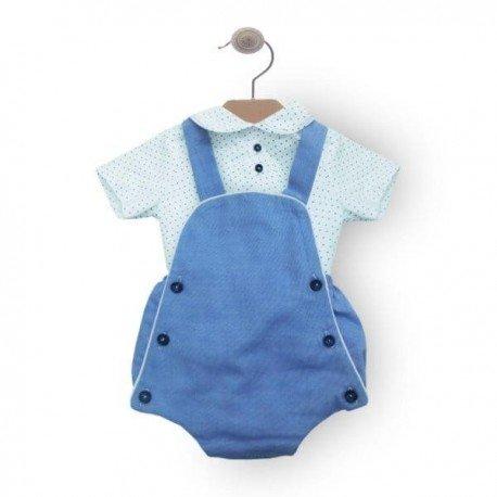 Ranita bebé niño azul David