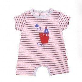 Pijama bebé niño barquito