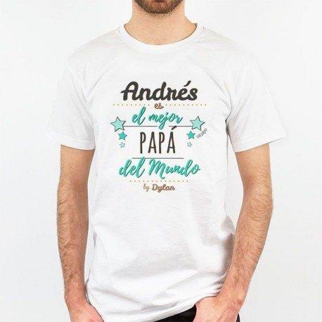 Camiseta El Mejor Papá del Mundo