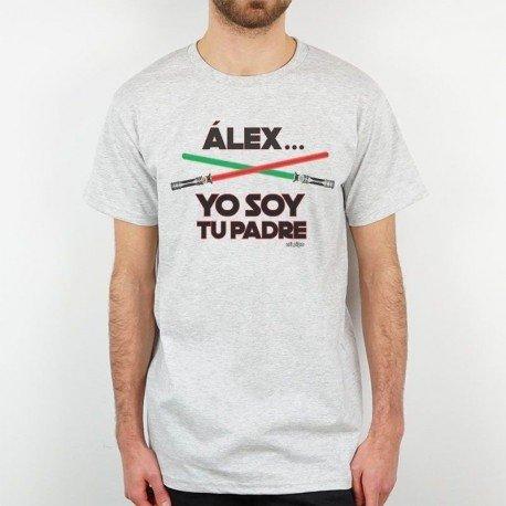 Camiseta personalizada Yo soy tu padre