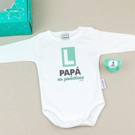 Cajita regalo bebé Papá en Prácticas