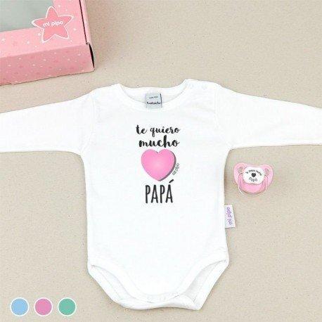 Cajita regalo bebé Te quiero mucho Papá