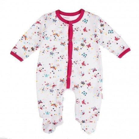 Pijama bebé niña Flores