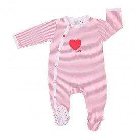 Pijama bebé Corazón