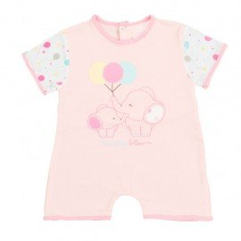 Pijama bebé niña Elefantes