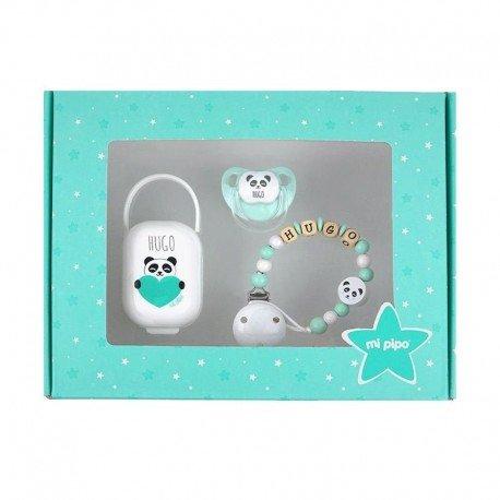 Cajita regalo My Baby Panda Menta